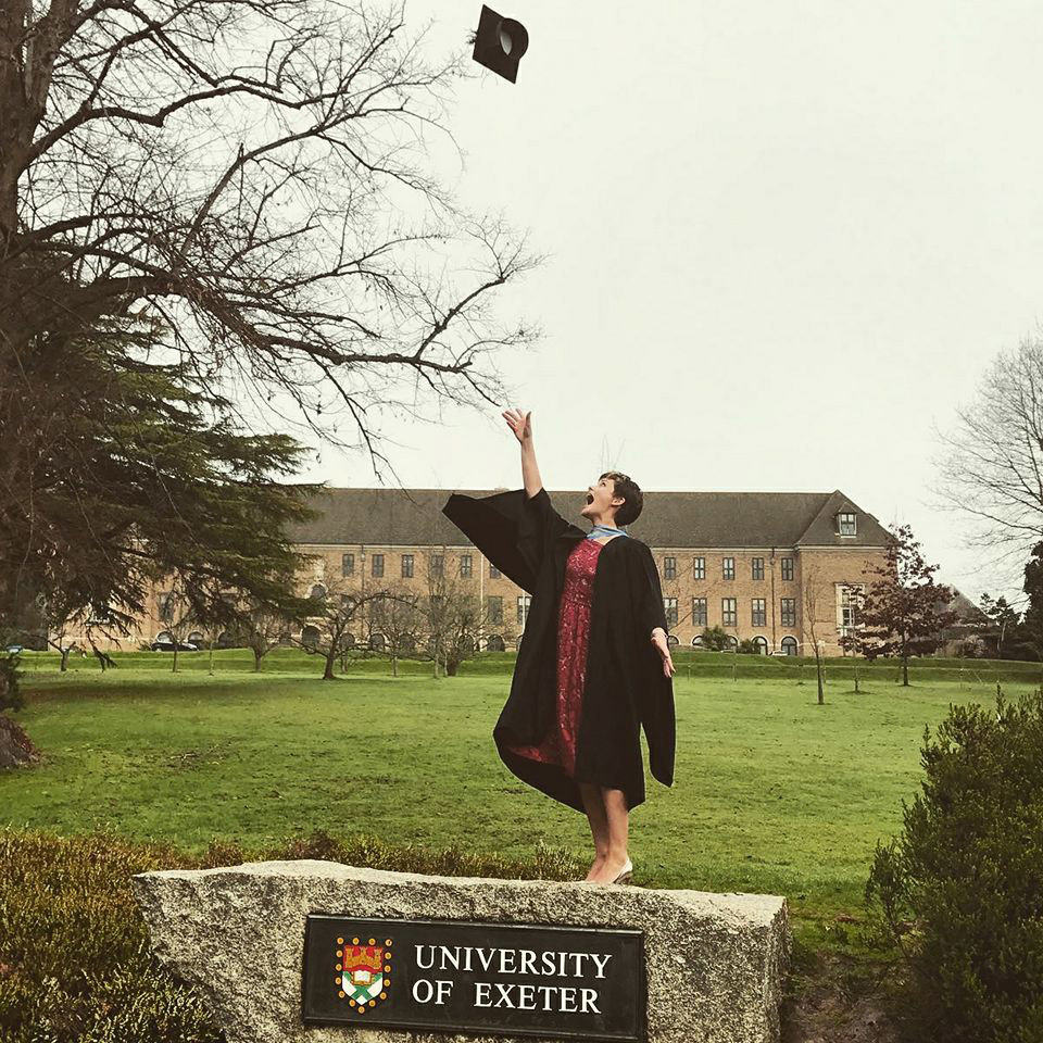 Sandbach Receptionist Sinead McDonnell Graduates With 1st Class Honours