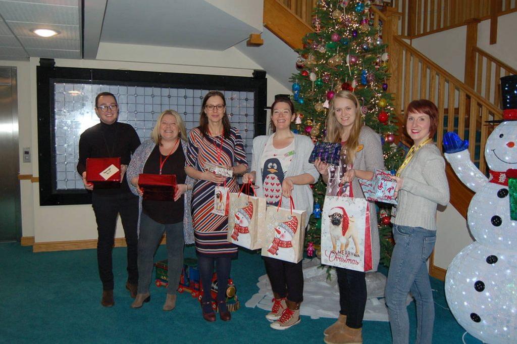 Beeston Shenton Donate Christmas PResents to Local Charity