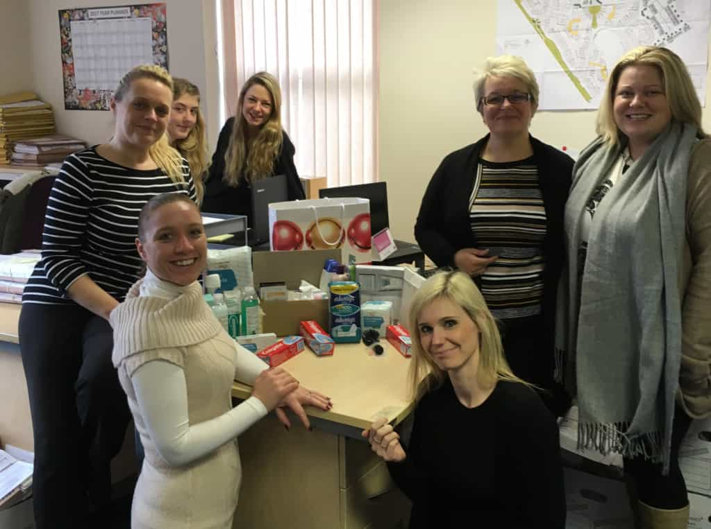 Beeston Shenton Crewe Donate To House of Bread Charity