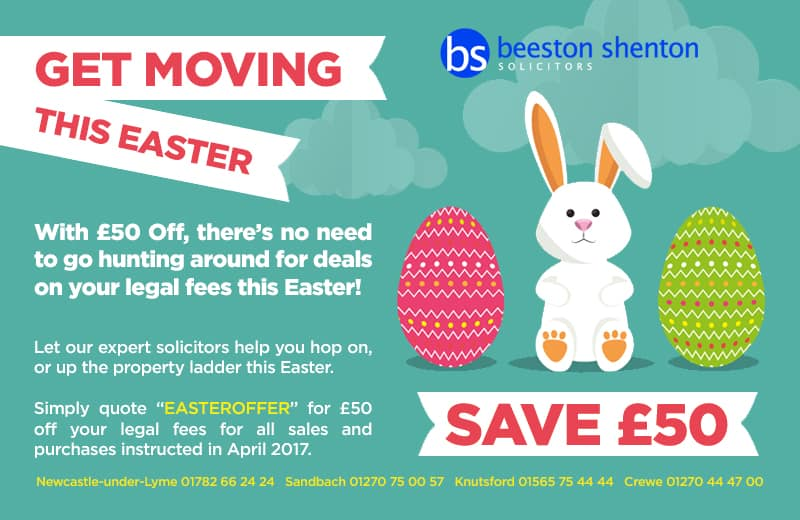 Get Moving This Easter With £50 Off