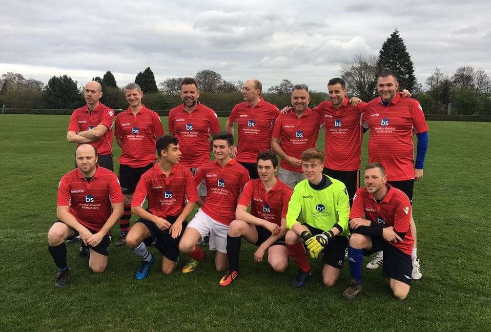 Beeston Shenton Charity Football Match April 2017