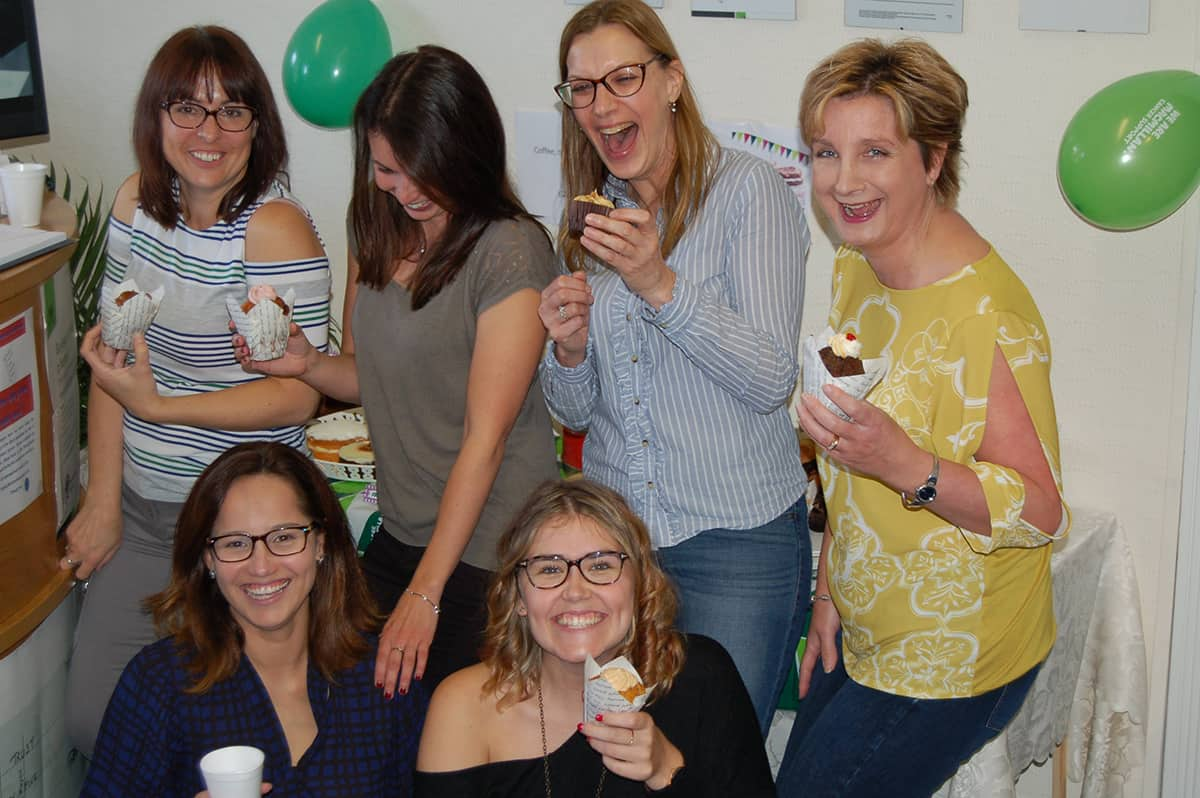 Macmillan Coffee morning Friday 29th September 2017