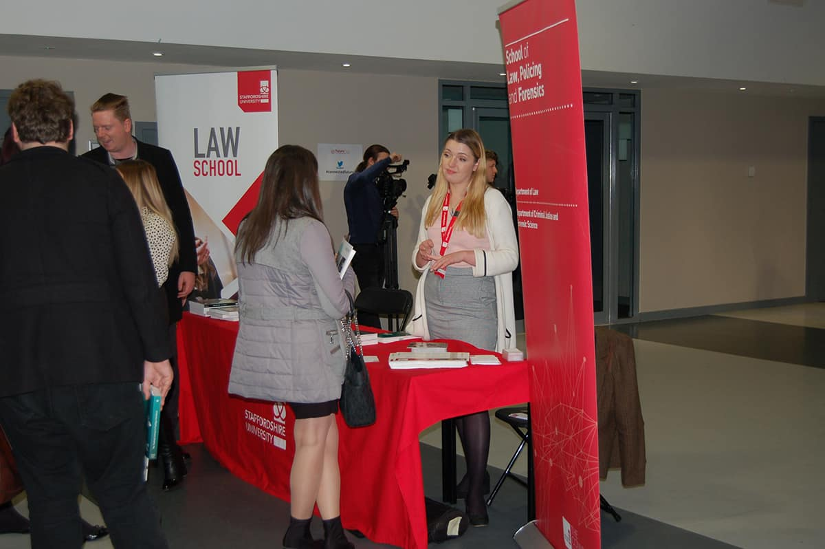 Staffordshire University FutureFest Law Fair