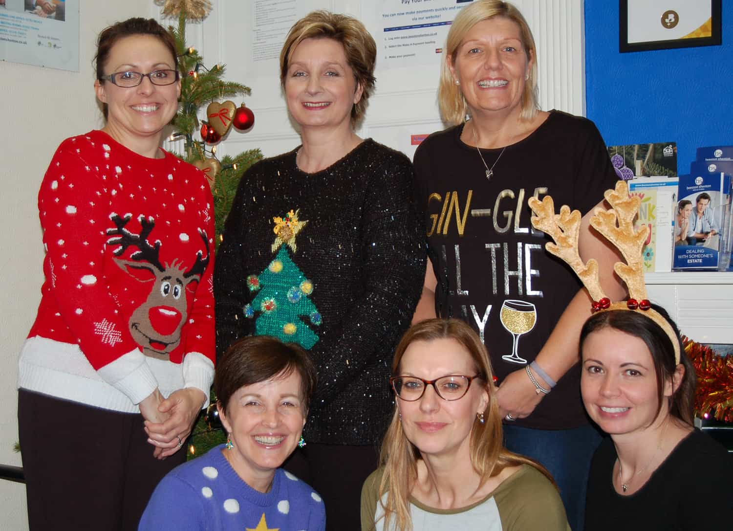 Donna Louise Trust Christmas Jumper Day