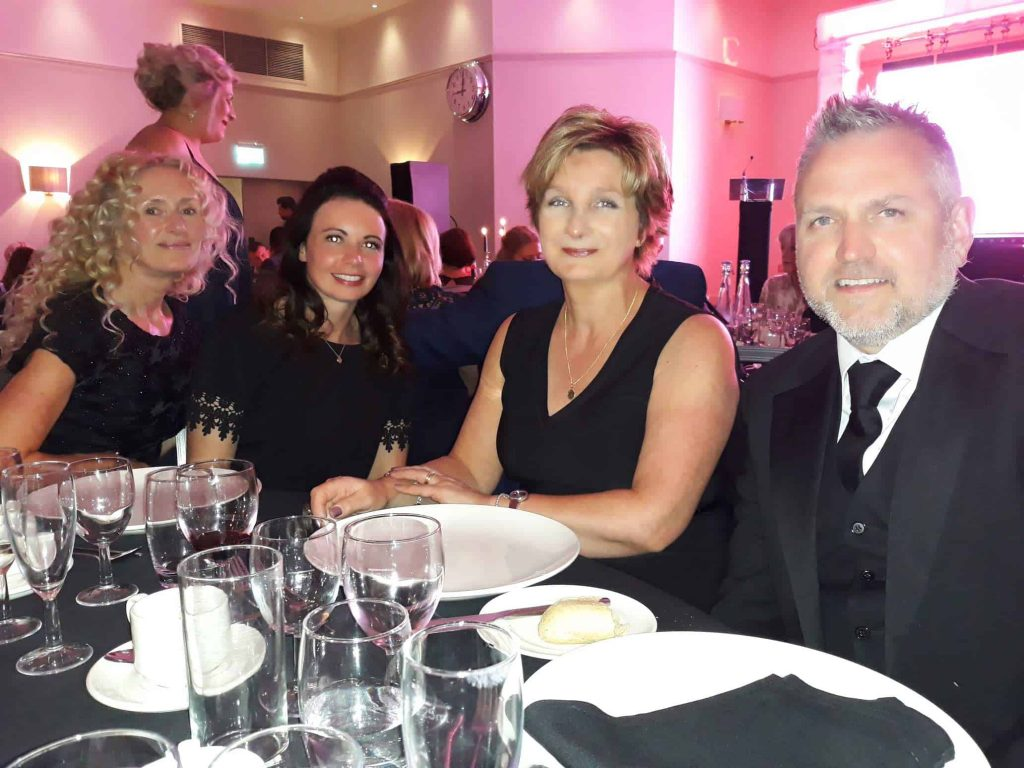 Beeston Shenton presents at Inspiration in Business Awards