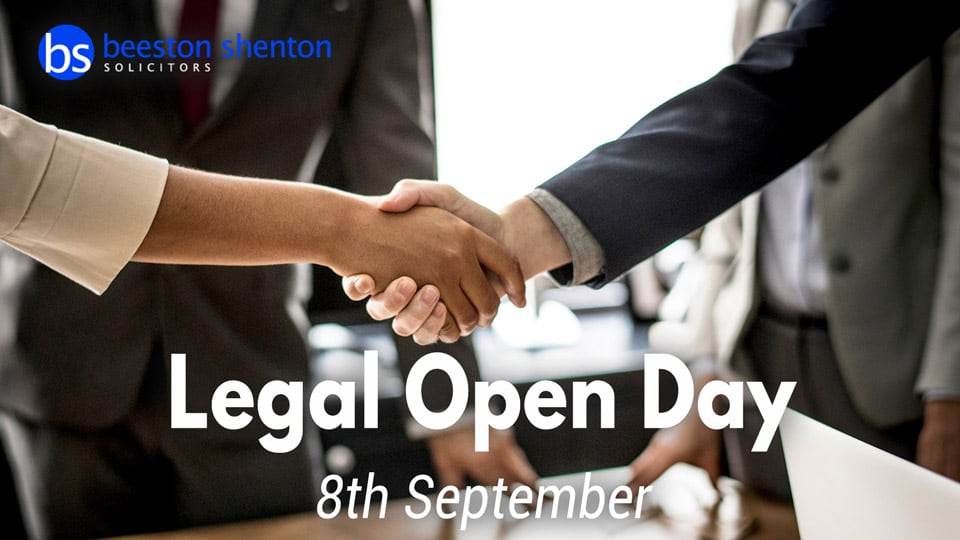 Come Along to the Beeston Shenton Legal Open Day 8th September
